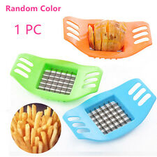 1PCS French Fry Potato Chip Cut Cutter Fruit Slicer Chopper Chipper Blade NEW