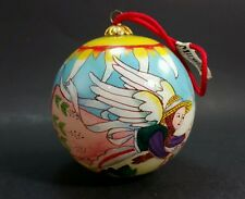 Midwest of cannon falls hand painted ornament garden Angel gardening Christmas