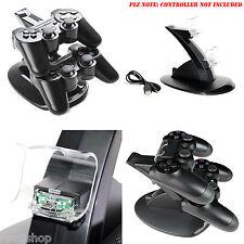 Double USB Chargeur Station D'Accueil Support Pour Playstation 4 Ps4 Manette