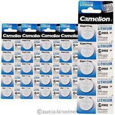 """""""25x Camelion CR2032 PREMIUM Lithium Batterie CR 2032"""