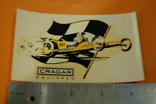 """CRAGAR EQUIPPED""  NOS DECAL"