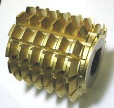Gleason Gear Hob Cutter 28 deg NPA 14? NDP Tin Coated Steel Cutting Tool