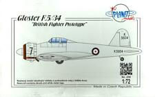 1/72 Planet Models GLOSTER F.5/34 British Fighter Prototype *MINT*