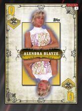 Slam DIGITAL Alundra Blayze Queens of the Ring Gold Award WWE Topps 2016