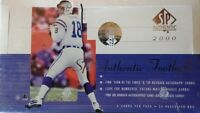 2000 Upper Deck SP Authentic Football Box Factory Sealed....Tom Brady RC $300k!!