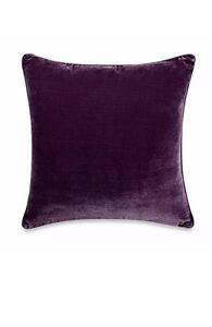Tracy Porter Poetic Wanderlust Willow Solid Velvet Purple Pillow Square