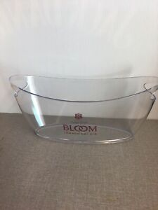 Bloom London Dry Gin Plastic Ice Bucket(New)Home Bar, Gin Lover, Christmas