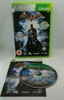Batman: Arkham Asylum Video Game for Microsoft Xbox 360 TESTED