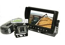 More details for sparex wired tractor reversing camera system with waterproof 7'' tft-lcd screen
