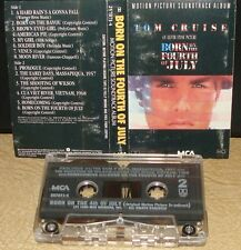 BORN ON THE FOURTH OF JULY       - Soundtrack -                    Cassette Tape