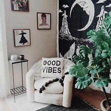 Crying Wolf The Moon Mandala Tapestry wall hanging Bohemian Bed Sheet Wall Art