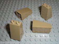 LEGO DkTan slope brick ref 3684 / set 7627 7307 7327 7326 4192 ...