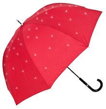 Von Lilienfeld LEA parapluie avec SWAROVSKI ELEMENTS-Rouge