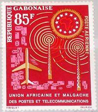 GABON GABUN 1963 184 C13 African Postal Union UAMPT Postunion Airplane MNH
