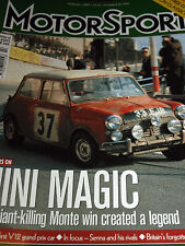 MONTE CARLO MAGIC MINI COOPER PADDY HOPKIRK SHELAGH ALDERSMITH BMC BILL PRICE 1