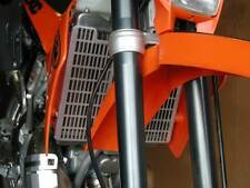 PAIR OF FLATLAND RACING RADIATOR GUARDS KTM 200 250 300 380 EXC MXC 98-05 12-02