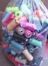 25 X 1000M COTTON THREAD POLYESTER MIXED PACK - BUNDLE - ASSORTED COLOURS
