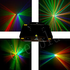 Double  RGY+GVW 280mW dj disco party laser stage lighting projector
