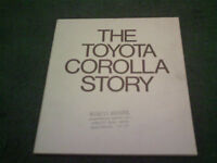 1980 THE TOYOTA COROLLA STORY - ENGLISH 48 PAGE BOUND BROCHURE