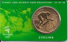 2000 $5 RAM UNC Coin Sydney Olympic coin collection- 25 of 28 (Cycling) + cover