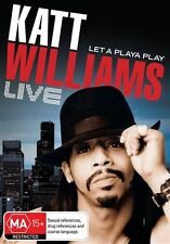 Katt Williams - Live : Let a Playa Play (DVD, 2009) - Region 4