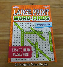 NEW Large Print Word-Finds (Word Search) Vol 224