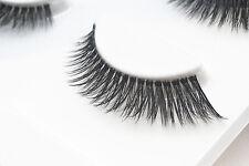 3 Pairs 3D Natural Make Up Soft Handmade Thick Long Cross False Fake Eyelashes