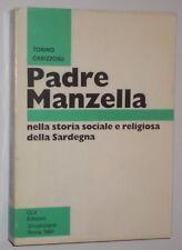 PADRE MANZELLA NELLA STORIA SOCIALE E RELIGIOSA DELLA SARDEGNA CABIZZOSU 1991