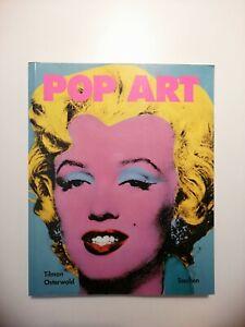 POP ART  Tilman Osterwold Taschen arte Warhol lichtenstein Rauschenberg johns