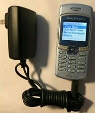 Sony Ericsson T226 Blue (At&T/Cingular) Cell Phone Fast Ship Good Used Vintage