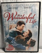 It's a Wonderful Life (DVD 2-Disc) COLORIZED & B&W- James Stewart, Donna Reed
