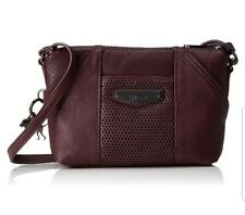 Kipling Art xs Warm plum Perfo small leather across  body bag Rrp£119