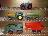 Siku Spielzeug Landmaschienen Trecker Traktoren Fendt Vario Favorit 926 V287