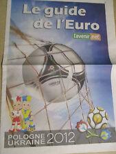 FOOTBALL : LE GUIDE DE L'EURO 2012 - POLOGNE UKRAINE - 05/06/2012