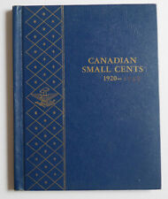 1920 to 1989 starting set of Canadian small cents