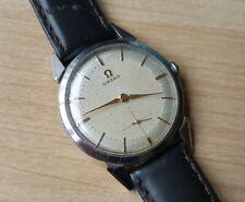 Men's Vintage 1954 Stainless Steel Manual Winding Omega Wrist Watch