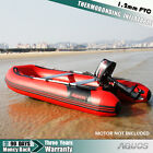1.2mm PVC 9.8' thermobonding Inflatable Boat Rafting Fishing Dinghy Tender boat