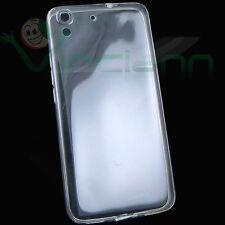Pellicola+Custodia AIR cover copri fotocamera+tappi per Huawei Y6 (Honor 4A)