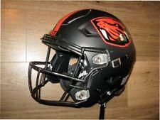 2020 Oregon State Beavers Game Issued Black Football Speedflex Helmet