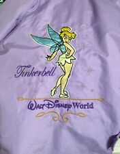 LILAC DISNEY TINKERBELL YOUTH SMALL HOODED COAT JACKET ZIP FRNT EMBROIDERED