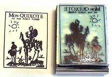 Mon Quixote funny rubber stamp by Amazing sock monkey
