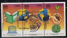 Chile 1995 FD Postmark 50 años de ONU Organizaciones de Naciones Unidas MNH