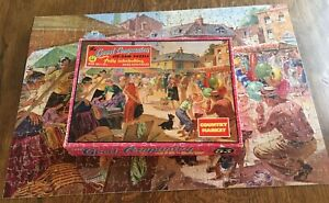 VTG, Good Companion Jigsaw No: 53 'Country market, Complete