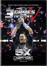 3 GAMES TO GLORY V New Sealed 3 DVD Set New England Patriots Super Bowl LI 51