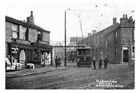 pt1648 - Tram , High Street Junction , Heckmondwike , Yorkshire - photograph 6x4