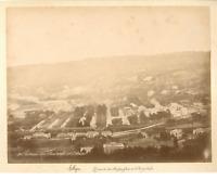 Algérie, Coteaux de Mustapha  Vintage albumen print.  Tirage albuminé  20x25