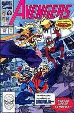 AVENGERS #316 Marvel Copper Age Key 1st Appearance of Spiderman on Team Near Mnt