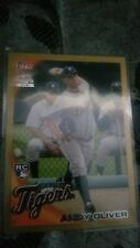 2010 Topps Update Gold Andy Oliver RC #'d 188/2010 Detroit Tigers