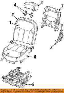 Lincoln FORD OEM Town Car Front Seat-Seat Cushion Frame Right XW1Z5463100AA