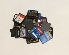 Lot of 10 Mixed Brand 4GB SD (SDHC) Cards